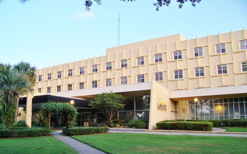 The Lakeside Hospital in Orlando is haunted, but if you don't have a reason to go there, maybe you could offer to volunteer?