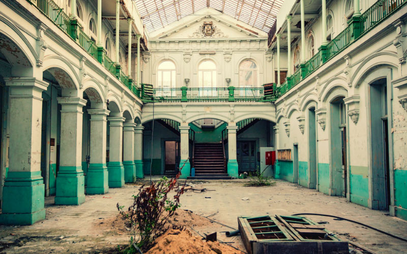 Encountering The Displaced Spirits in the Haunted Hotel