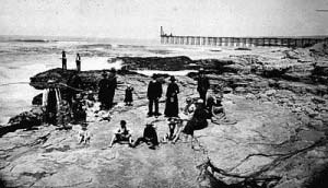 An interesting old photograph of Lompoc Landing, a place that has all but been forgotten by the sinister spirits.