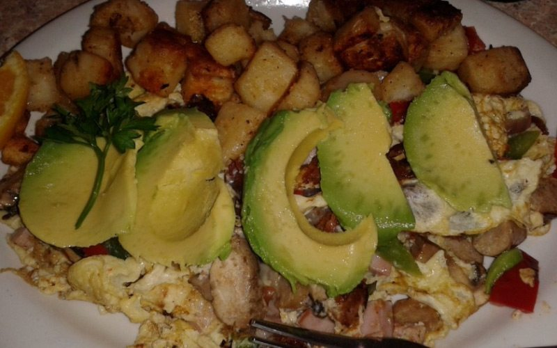 This Mexican-Fusion scramble at Coffee Cup Café is true excitement for your taste-buds.
