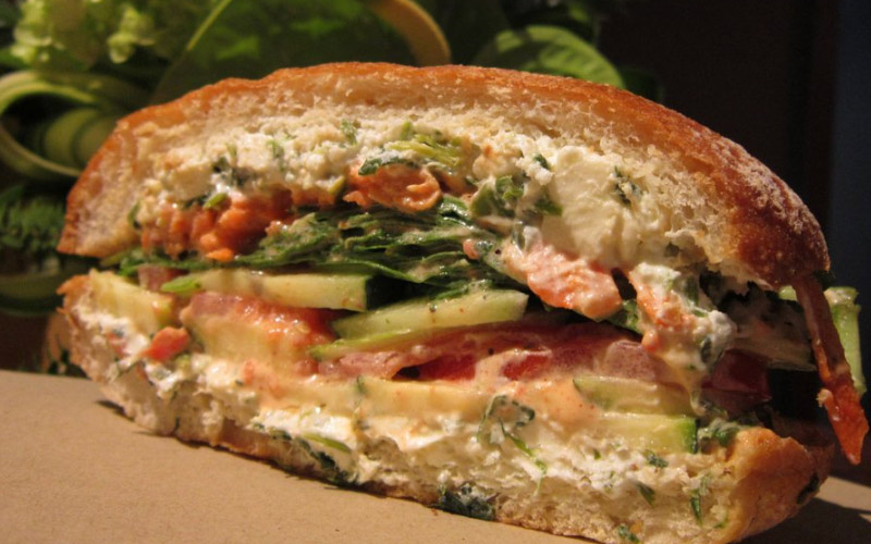 Love sandwiches? You'll Pickles & Swiss in Santa Barbara California.