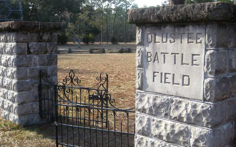 Sanderson: The Confederate Ghost on the Olustee Battlefield