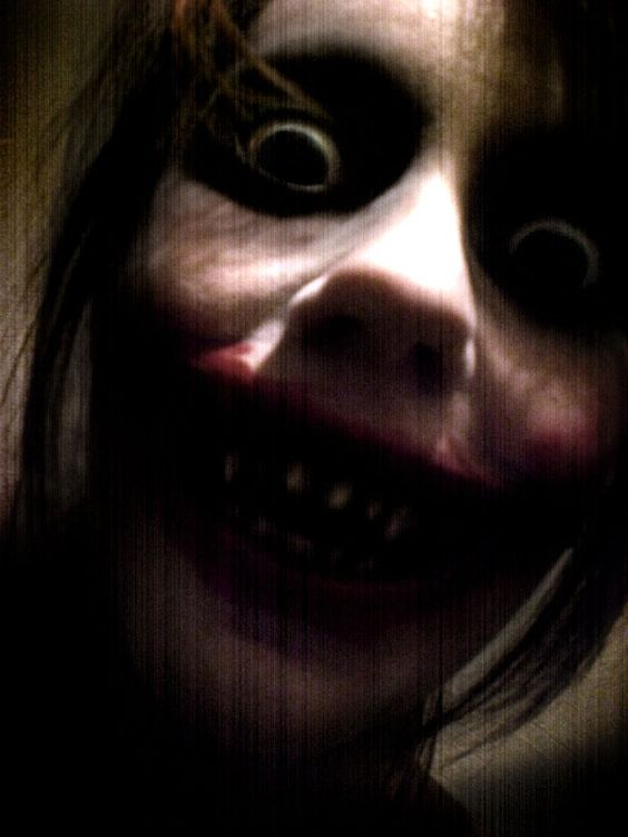 What would you do if you saw a little monster looking at you?