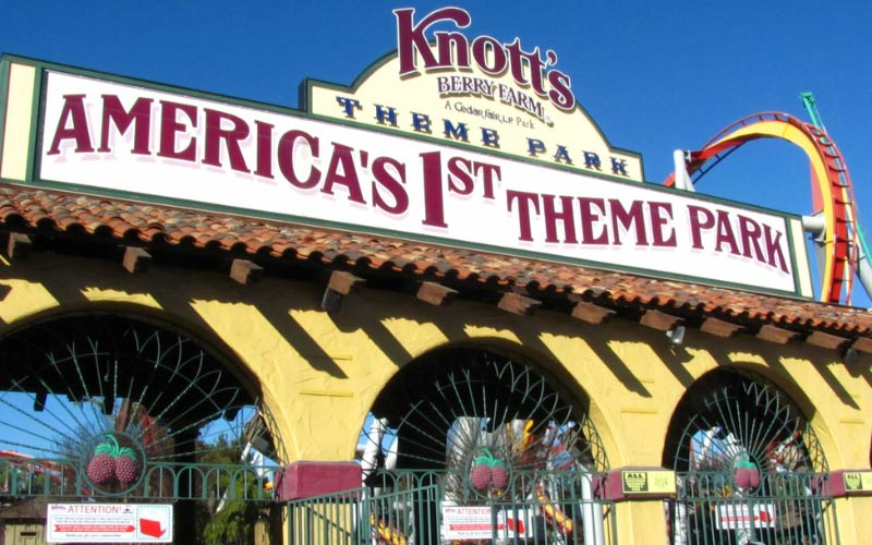 Buena Park is home to America's first theme park...and perhaps one of the most haunted, but you won't find that on their sign.