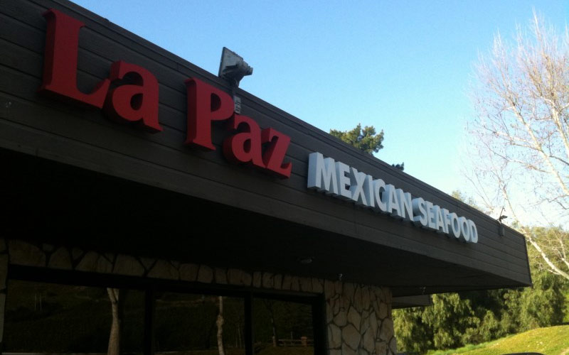 La Paz in Calabasas is a tasty place to eat, and a great place to potentially run into some strange paranormal energy.