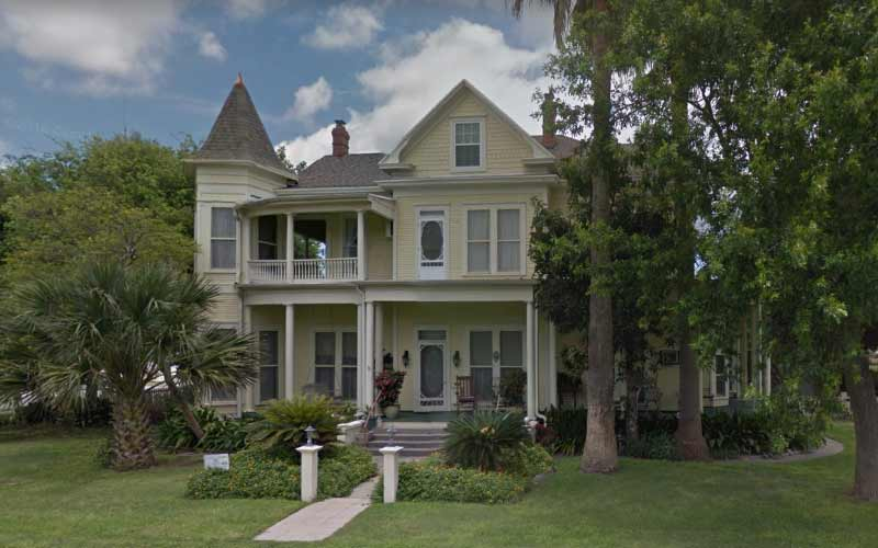 The Angel Rose Bed and Breakfast in Rockport, TX is cozy, but it isn't small, and they've got no shortage of paranormal occurrences.