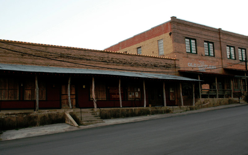 Be careful if you're ever dancing in the dark at the haunted Old Coupland Inn and Dance Hall in Coupland, TX