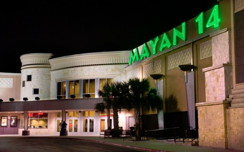 The Mayan Palace 14 in San Antonio, TX has a sketchy past, both paranormal and on our plane of existence.
