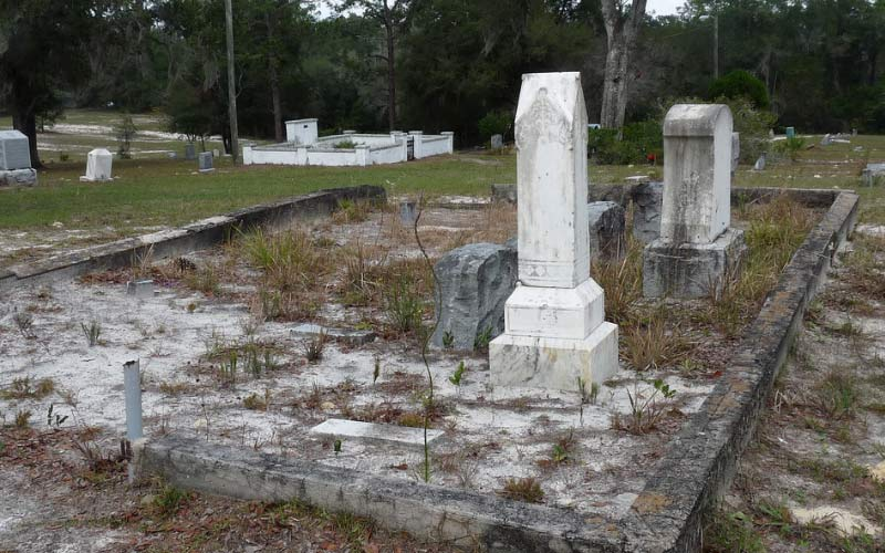 If you're looking for haunted places, the Lake Helen Cassadaga Cemetery in Florida, fits the bill - just make sure you're respectful while you visit - or risk the consequences.