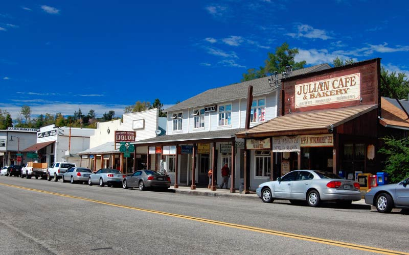 Julian in California has a lot more to offer lovers of the paranormal than just some shops to visit, that's for sure.