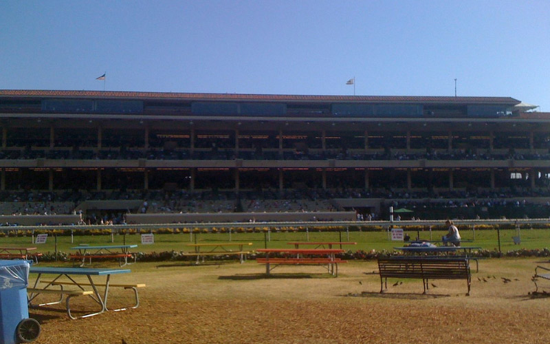A Ghost Follows Visitors Home from World Renowned Del Mar Racetrack
