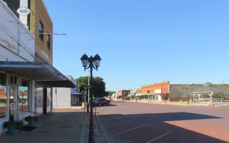 Take a walk through downtown Seymour, Texas and try to imagine what it looked like 150 years ago.