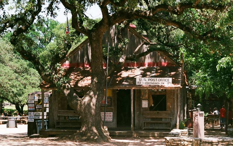 In Texas and looking for something scary? Make sure you visit Luckenbach.