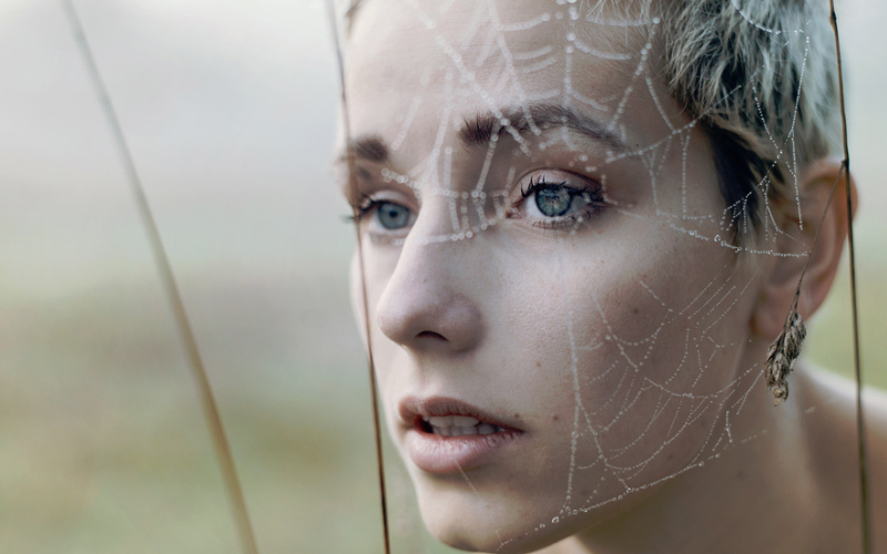 Make sure your mind doesn't feel like a spiderweb before you begin to remote view.
