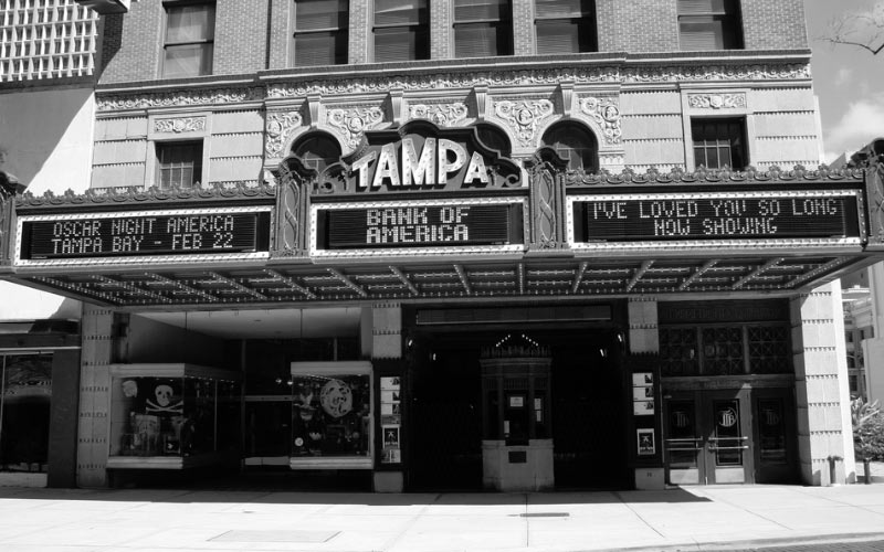 The Tampa Theater is home to numerous spirits who manifest themselves in different ways.