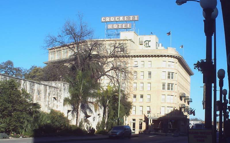 There aren't very many people who would argue that San Antonio isn't the most haunted city in Texas, and the Crockett Hotel is a damning piece of evidence.