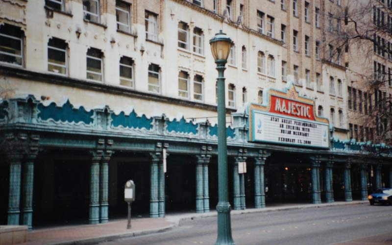 The Majestic Theater is just further proof of how incredibly haunted this city is.