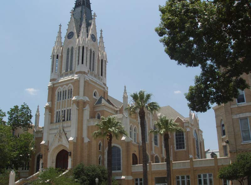 Our Lady of the Lake University, one of the most haunted in the nation, depending who you ask... And of course it's in San Antonio, TX.