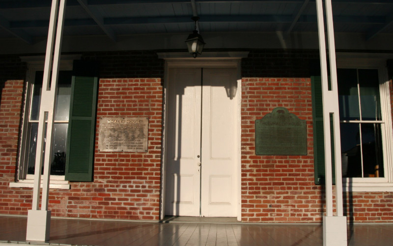 Whaley House in San Diego is a historic site, like many haunted places, but they say it was haunted long before it became historic.