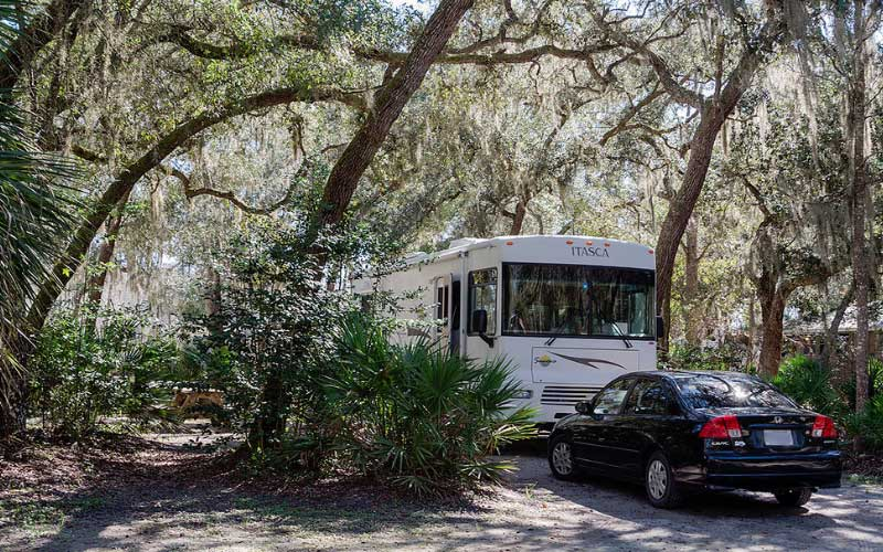 The Yellow Jacket RV site in Old Town Florida is absolutely haunted.