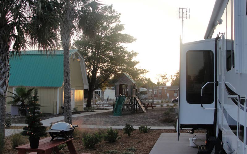 The Carrabelle Beach RV Resort In Florida Is A Lovely Place To Setup Camp Especially