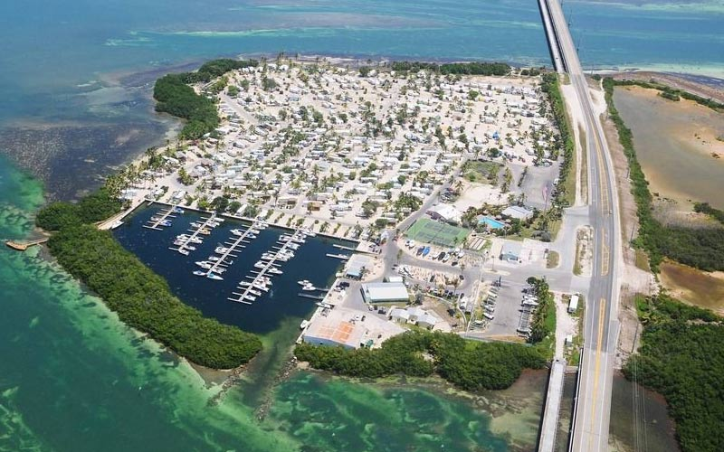 Big Pine Key looks great from above, and it's a really nice area in general, so long as the ghosts leave you alone.