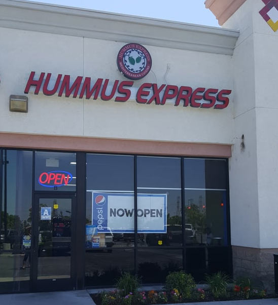 If you're looking for a delicious meal and to experience a haunting, check out Hummus Express in Bakersfield California.