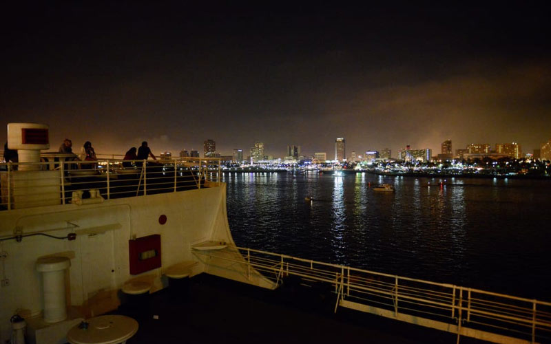 The Queen Mary is a party waiting to happen, and the ghosts love the open waters.