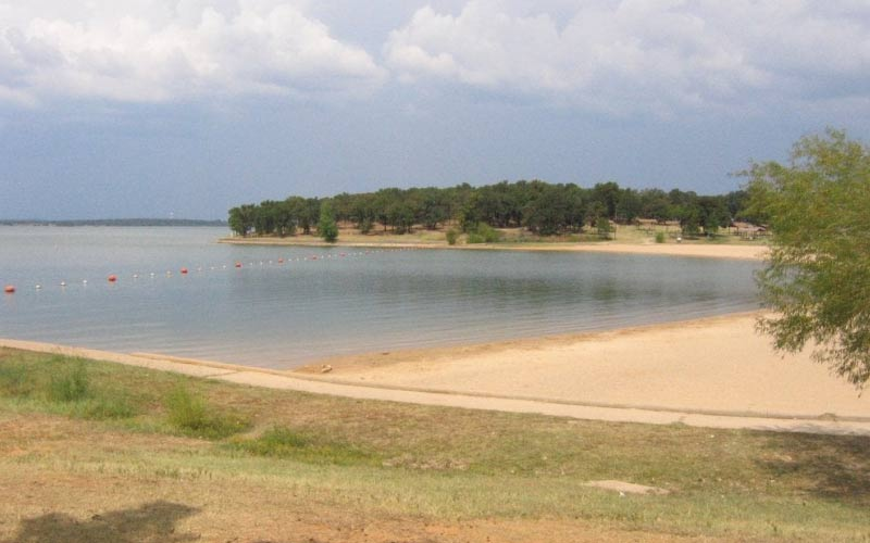 Ghosts may try to trick you at Ray Roberts Lake in Pilot Point, TX.