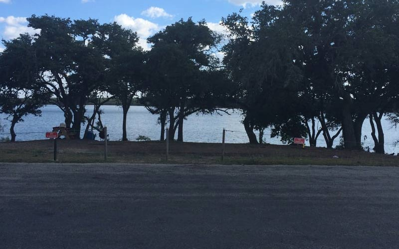 Boerne City Lake, what better place to see a ghost in Texas?