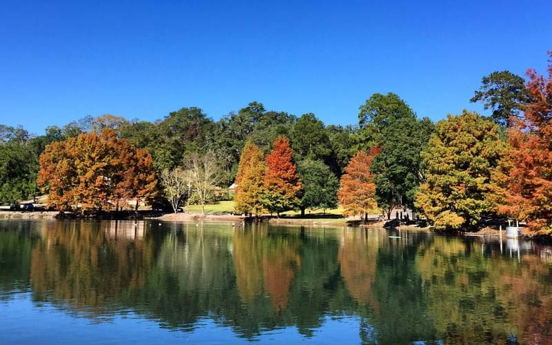 Are you excited to see a ghost at Lake Ella in Tallahassee, Florida?