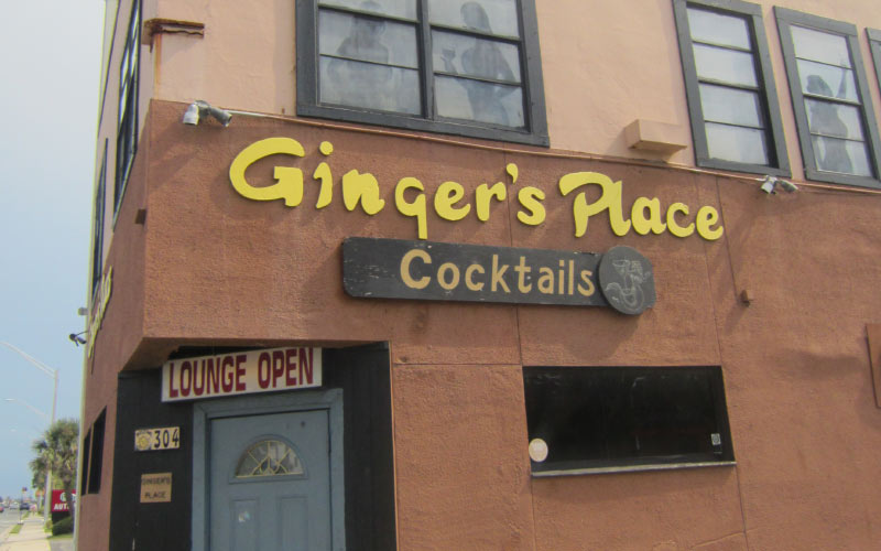 Ginger's Place in Jacksonville is an unapologetic dive bar with a haunted history.