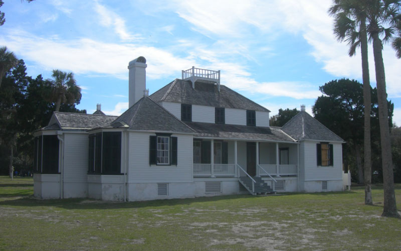 The Kingsley Plantation has a dark history, you don't have to dig very deep to find the metaphorical skeletons of Jacksonville.
