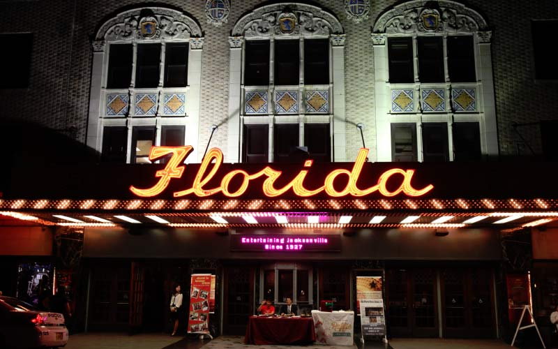 The Florida Theater is a local landmark, entertaining people in Jacksonville for decades, entertaining spirits for nearly as long.