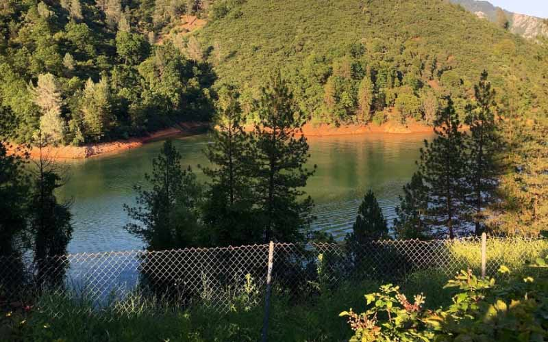 Lake Shasta in Lakehead California is only haunted at night, and during the day.