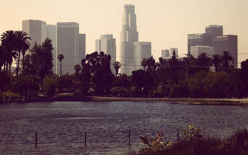 Echo Lake Park in Los Angeles California has several spirits haunting the waters.