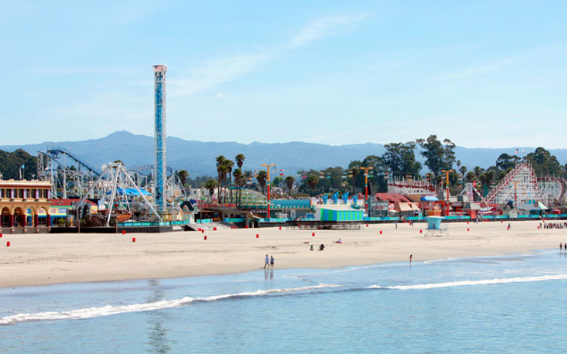 Beach RV Park in Santa Cruz is right by a fun boardwalk, a beautiful beach, and a few haunted entities that appear every now and then.