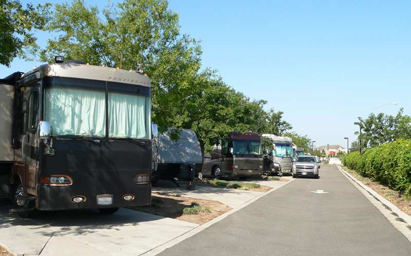 The Flag City RV Resort in Lodi California is popular for both the living and the deceased.
