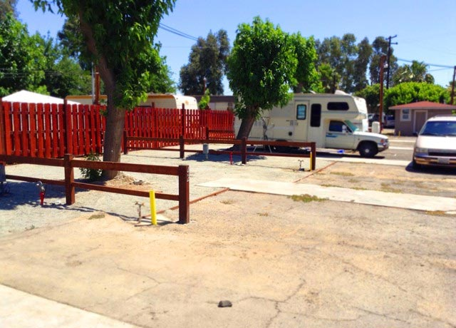 The Three Palms RV park in Fresno California is haunted, obviously.