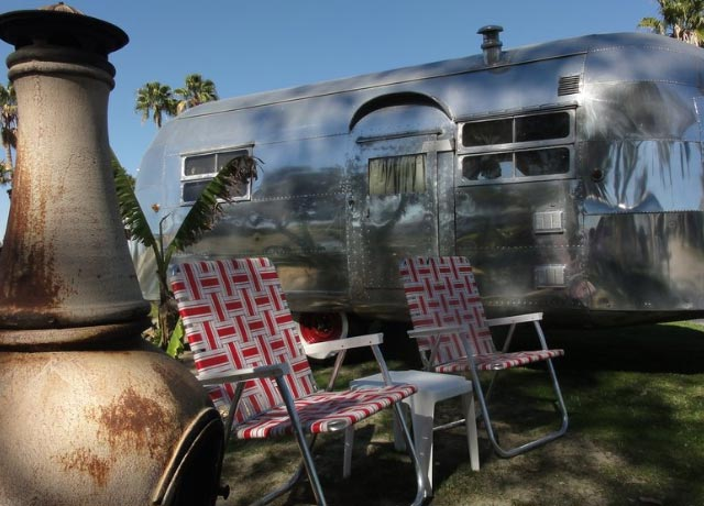 Shadow Hills RV Resort in Palm Desert lives up to its name, as one of the shadowier places in California to see a ghost.