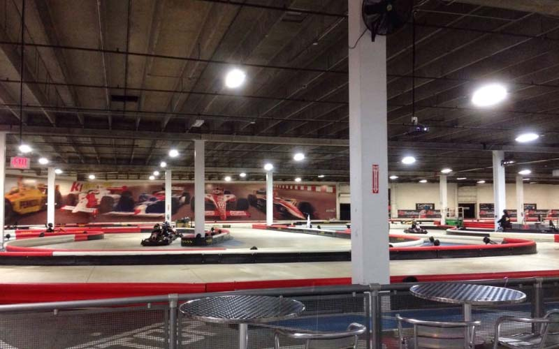 Ghosts at a go-kart track? See for yourself at K1 Speed in Hollywood, one of the most haunted attractions in Florida.