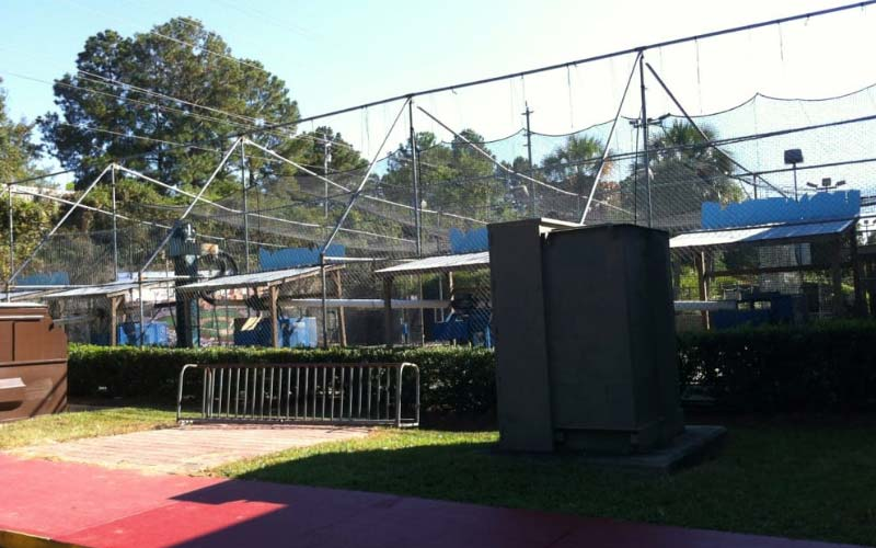 Tallahasse's Fun Station is one of the most haunted parks in Florida.