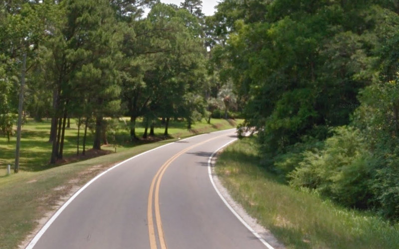 Solomon Dairy Road in Quincy, FL has two combative spirits, as well.