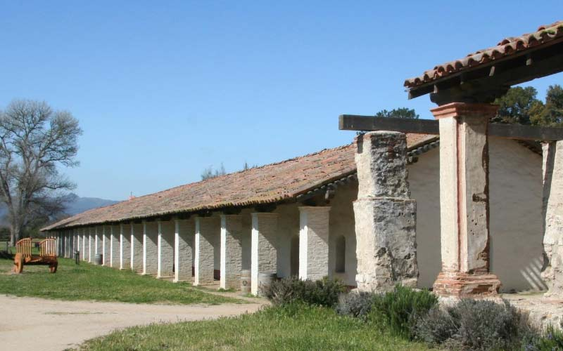 La Purisima Mission in Lompoc, California is as haunted as you're prepared to see. The spirits here don't have time for the skeptical.