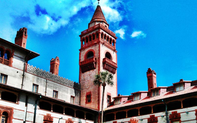 Flagler College in St. Augustine, FL looks picturesque and like something from the other side of the world, but most of the paranormal entities are domestic.
