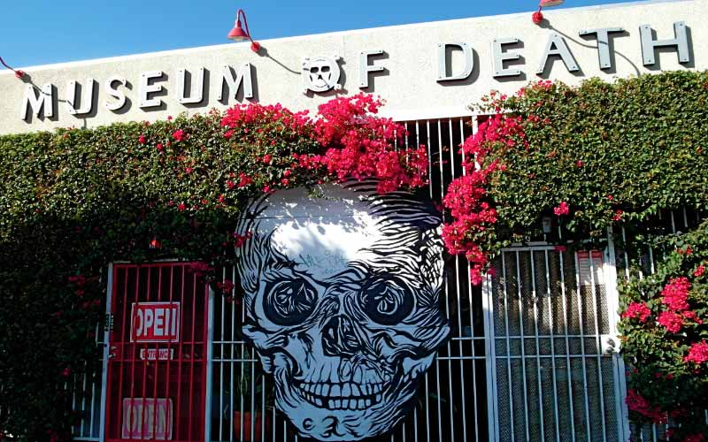 The Museum Of Death in LA is at It is located at 6031 Hollywood Blvd.
