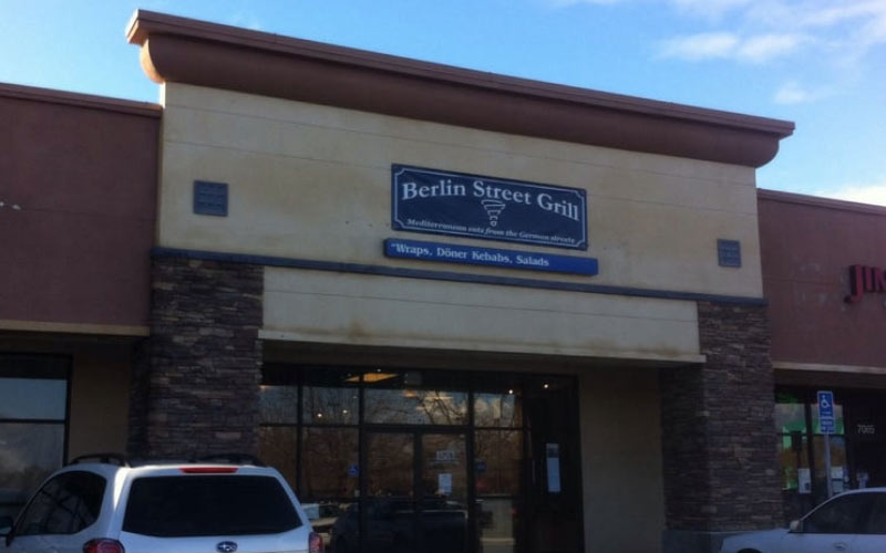 Berlin Street Grill has awesome food, and mostly friendly spirits that haunt it.