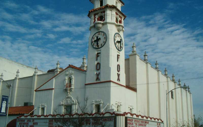 Fancy a show at the haunted Fox Theater in Visalia, CA?