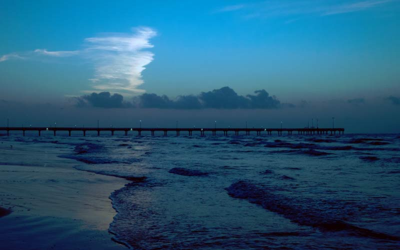 One of the most haunted plots of land in Texas is Port Aransas Beach.
