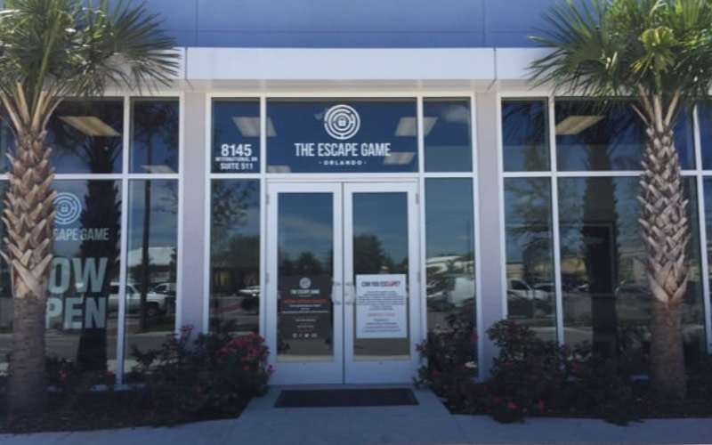 You don't want to know what happens if you don't escape in time from this escape room in Orlando, Florida...